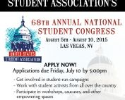 Student Lobby Conference flyer_final2
